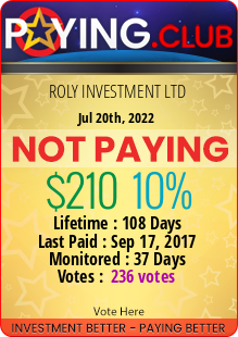 paying.club - hyip roly investment