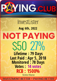 paying.club - hyip invest lister limited