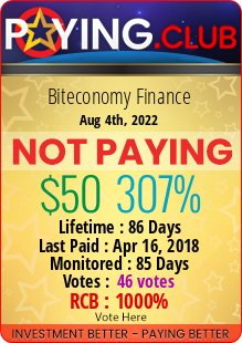 paying.club - hyip biteconomy finance