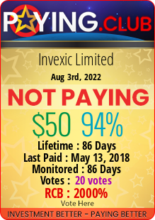 paying.club - hyip invexic limited